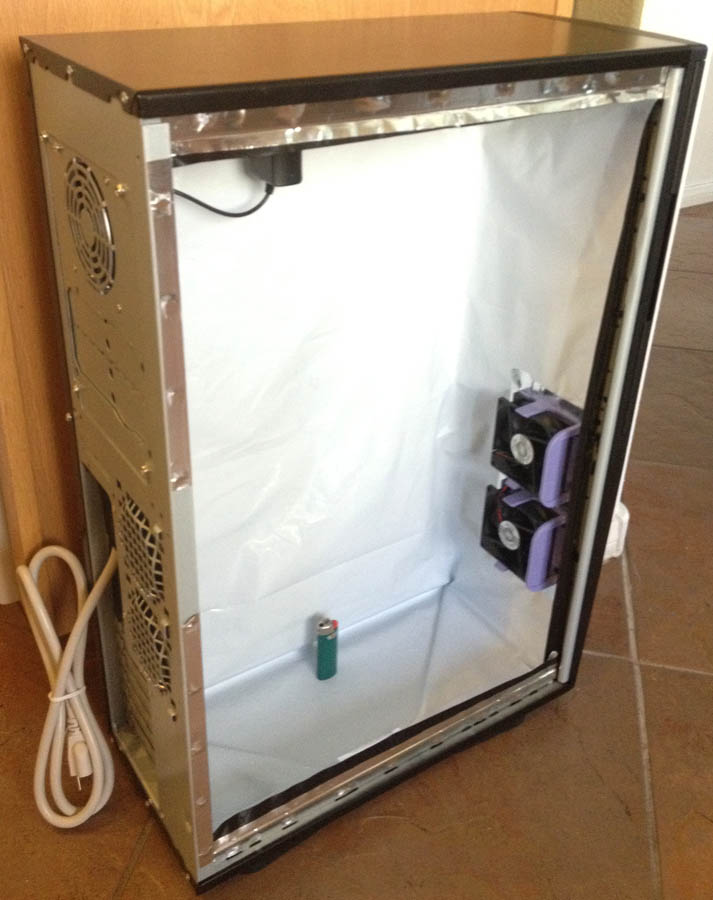 Pc Grow Box Led Stealth Hydroponic Computer Plant